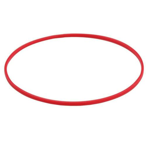 Red Back Case Gasket, Red Plastic Case Back Gasket for Waterproof Watches
