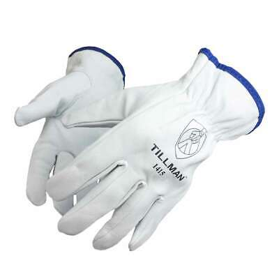 Tillman 1415 Unlined Top Grain Goatskin Drivers Gloves Medium