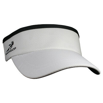 Brand New Headsweats Supervisor Running FItness Sports Hat Cap Visor, White
