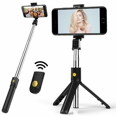 Bluetooth Wireless Remote Extendable Selfie Stick Tripod Mount Stand