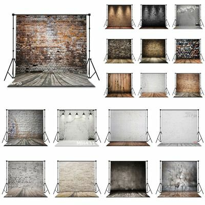 Vinyl 18 Type Brick Wall Floor 10X10FT Studio Backdrop CP Photography Background