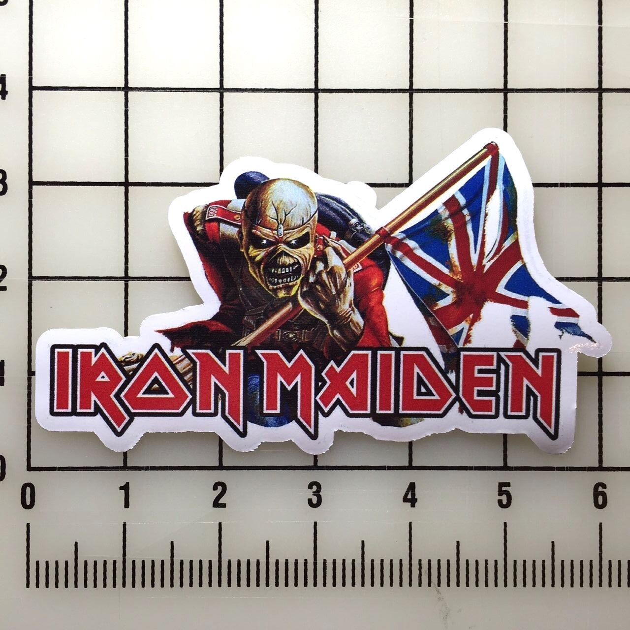 "Home Decoration - Iron Maiden 6"" Wide Color Vinyl Sticker - BOGO"