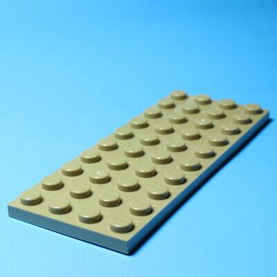 3030 LEGO 1X PLATTE 4 X 10 DUNKELBEIGE 6001001