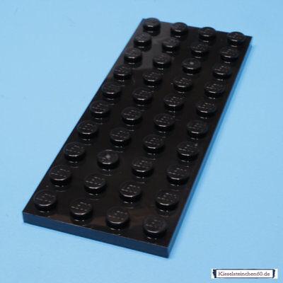 3030 LEGO 1X PLATTE 4 X 10 SCHWARZ 303026