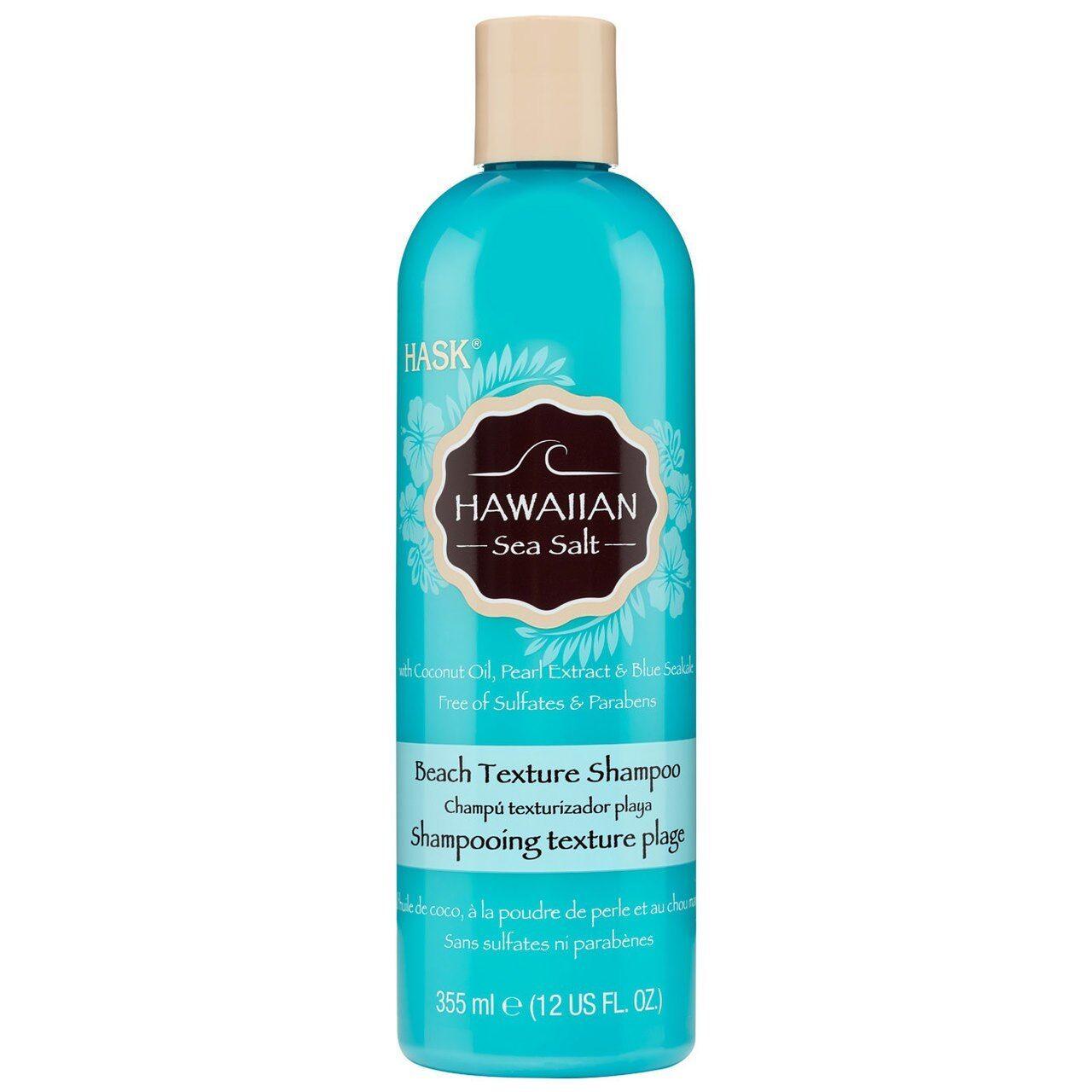 Hask Hawaiian Sea Salt Beach Texture Shampoo 12 oz