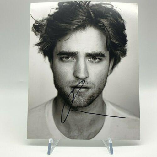 Robert Pattinson Signed 10x8 Photo Twilight AFTAL OnlineCOA
