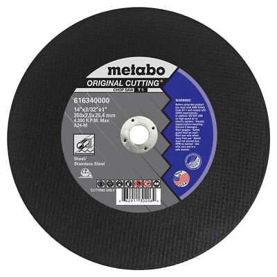 Metabo 616340000 14 X 332 X 1 Original Slicer A24m Chop Saw 10 Pack