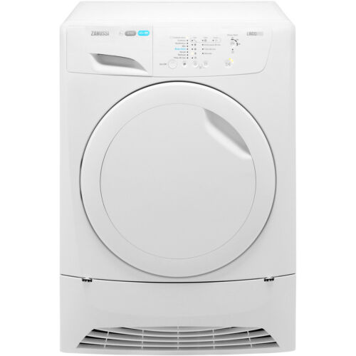 Zanussi ZDC8202PZ Lindo300 B Rated 8Kg Condenser Tumble Dryer White