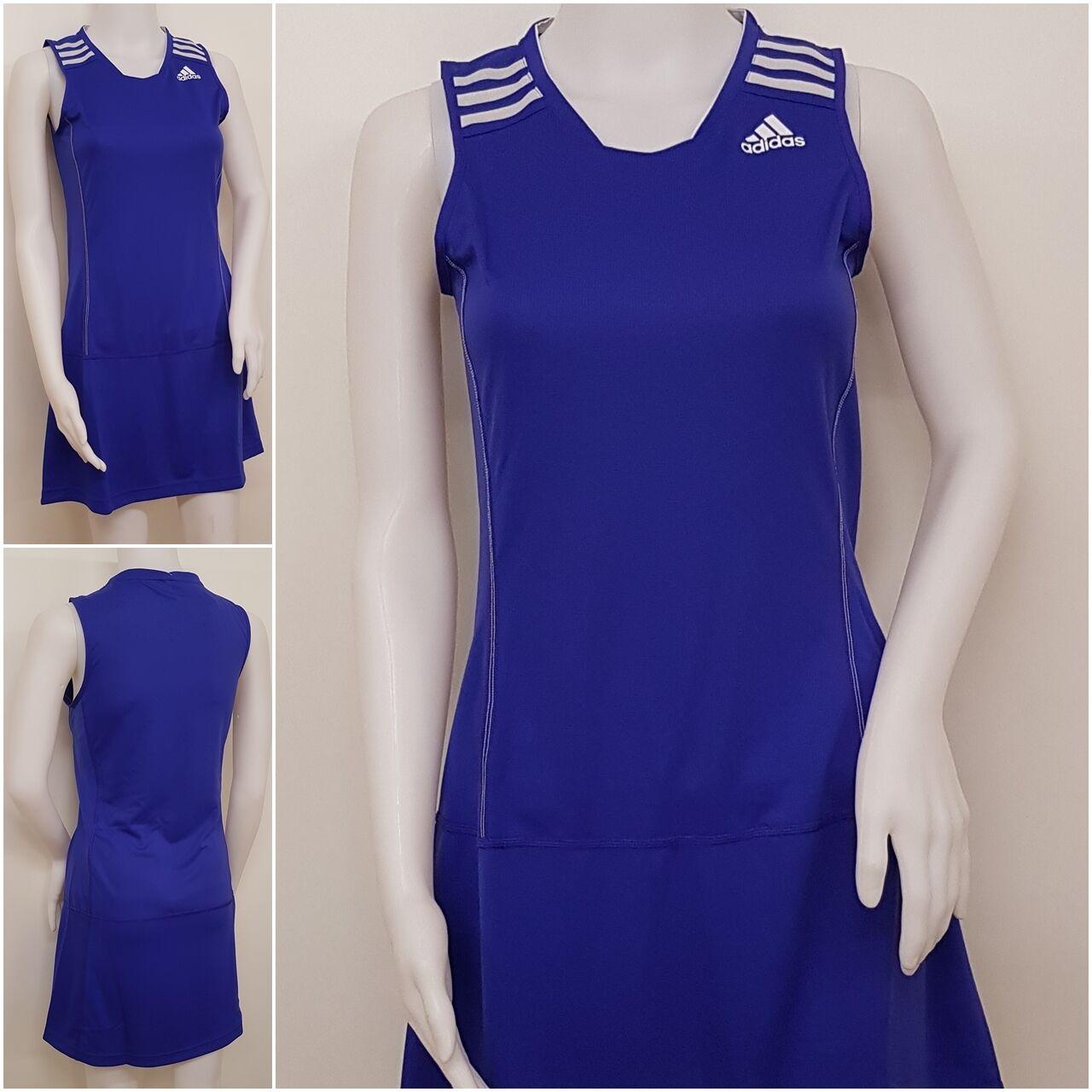Adidas Damen Badminton Rock G85182 W Bt Skort m Blau Neu @339