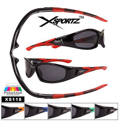 Polarized XsportZ Sunglasses - Style #XS118- Fishing mans best (Best Polarized Sunglasses Fishing)