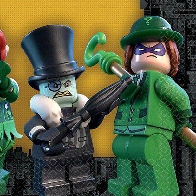 Lego Batman Party (Lego Batman Birthday Party 16 Ct Beverage Napkins)