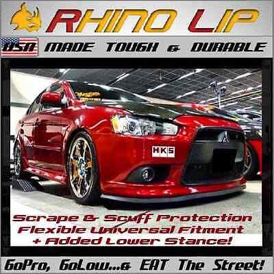 Mitsubishi EVO Lancer Eclipse GT3000 RalliArt Universal Front Chin Lip Splitter