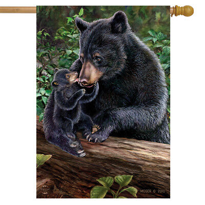 Lily and Hope Summer House Flag Black Bears Cub 28