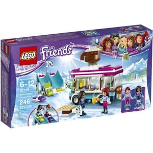 Lego Friends 41319 Snow Resort Hot Chocolate Van 246pcs For Sale