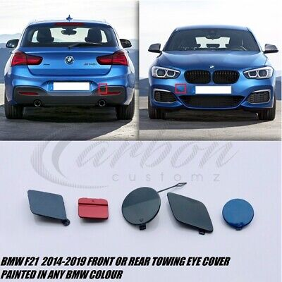 NEW GENUINE BMW X1 SERIES E84 12-15 FRONT BUMPER TOW EYE HOOK COVER 7345034
