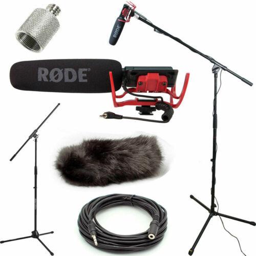 RODE VideoMic Microphone Studio Boom Kit with DeadCat