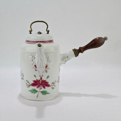Antique 18th Century Marcolini Period Meissen Porcelain Chocolate Pot - PC