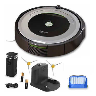 iRobot Roomba® 690 Wi-Fi® Connected Robot Vacuum + Virtual Wall and accessories