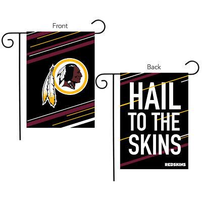"Washington Redskins Slogan Garden Flag NFL Licensed 12.5"" x"