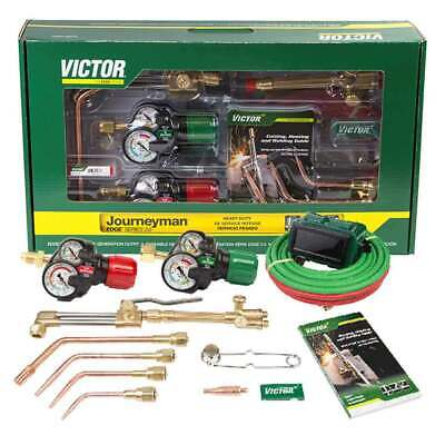 Victor 0384-2101 Journeyman 540510 Edge 2.0 Acetylene Cutting Torch Outfit
