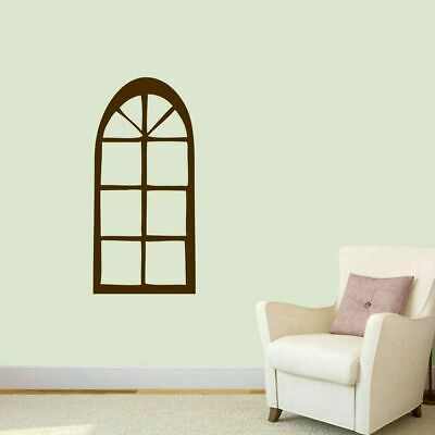Arched Window Wall Decal - Windows and Doors Wall Art Accents Decals Murals