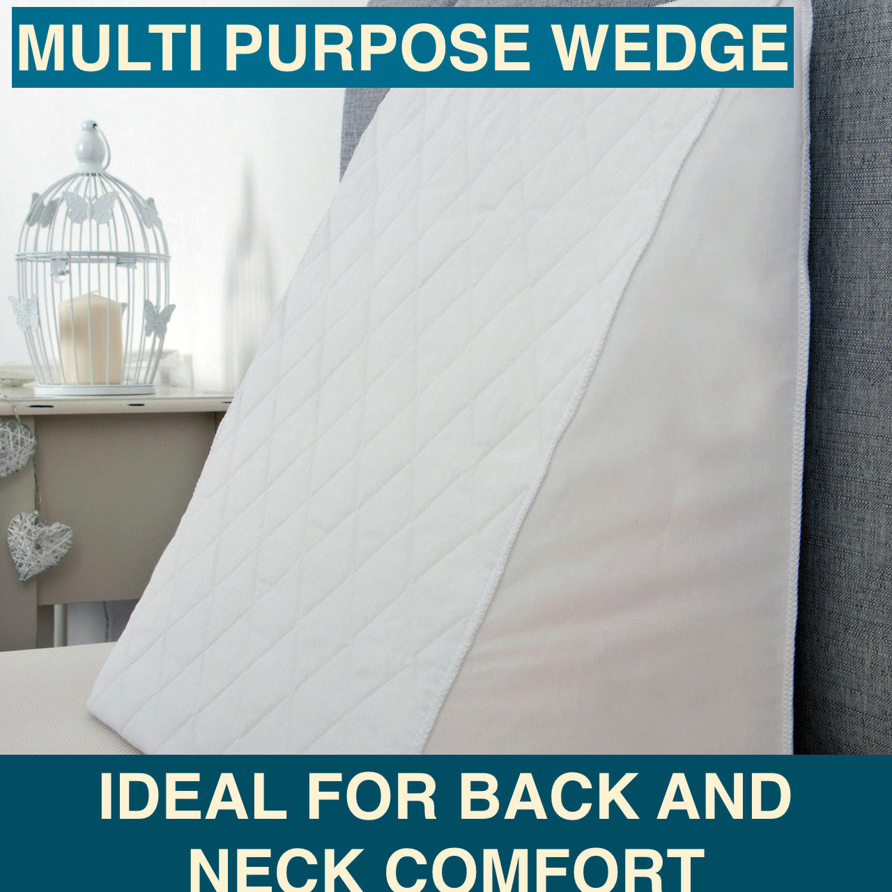 Acid Reflux Remedy Foam Bed Wedge Pillow Support Comfort