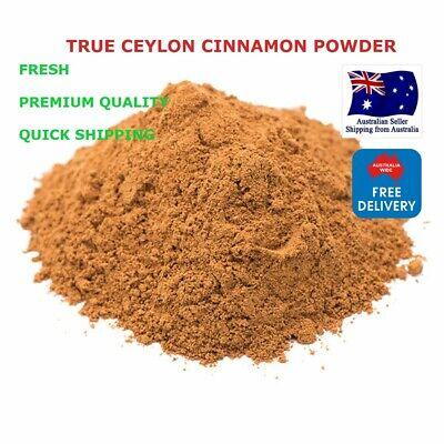 Ceylon TRUE Cinnamon Powder GMO free 100g & FREE & QUICK SHIPPING