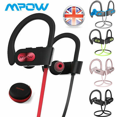 Mpow Flame2 Bluetooth 5.0 Wireless Headphones Earphones Sports Earbuds Upgraded