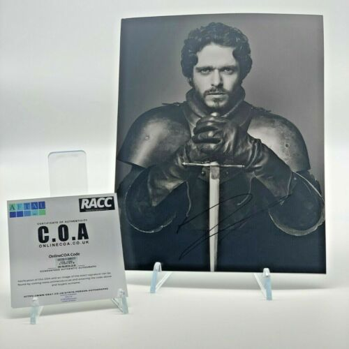 Richard Madden Signed 10x8 Photo Game of Thrones AFTAL OnlineCOA