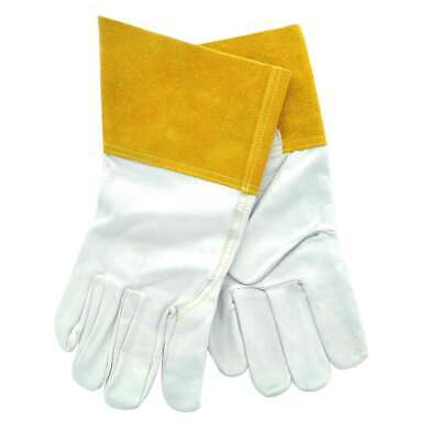 Tillman 1327m 4 Cuff Goatskin Tig Welding Gloves White Medium 1 Pair
