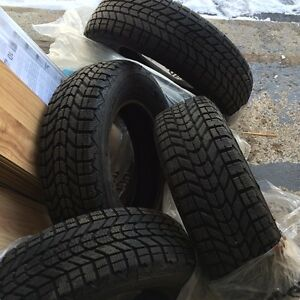 FIRESTONE WINTERFORCE TIRES - USED ONE SEASON