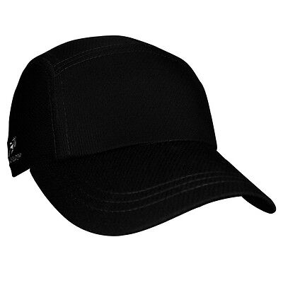 Brand New Headsweats Race Running Fitness Sports Hat Cap, One Size, Black