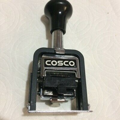 Cosco Automatic Numbering Machine Self-inking