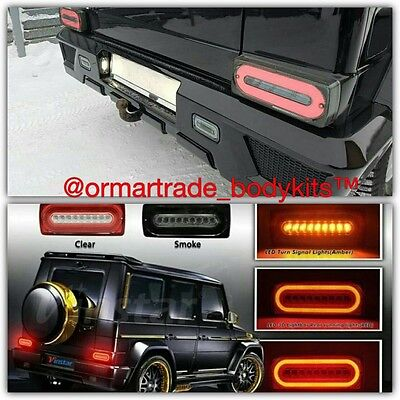 Tail Lights Smoke and Red New Generation for Mercedes W463 BRABUS AMG Style