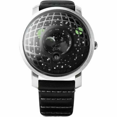 NEW Xeric Trappist-1 Moonphase Silver Black OFFICIAL DEALER