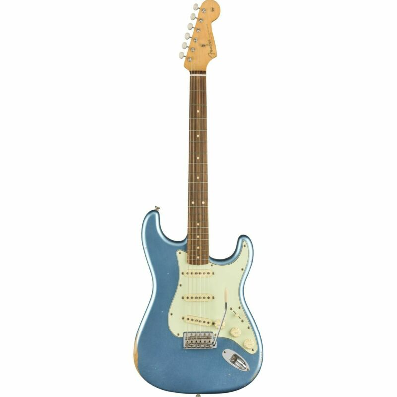 FENDER Road Worn 60s STRATOCASTER, Pau Ferro, Lake Placid Blue