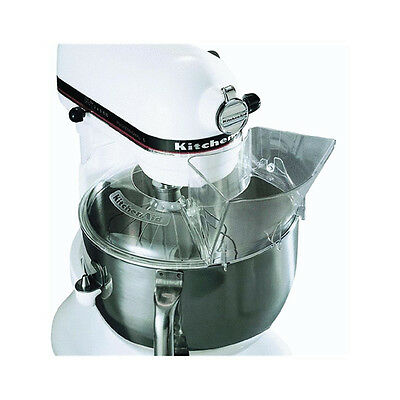 KitchenAid KN1PS 1-Piece Pouring Shield for 4.5 or 5 quart Artisan Stand Mixers 1 Piece Pouring Shield