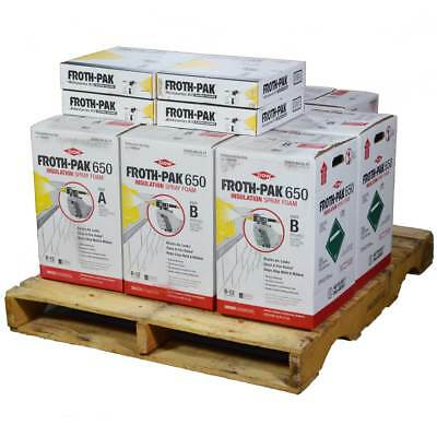 Dow Froth-pak 650 Spray Foam Insulation 4 Kits 30 Ft Hoses 2600 Sq Ft