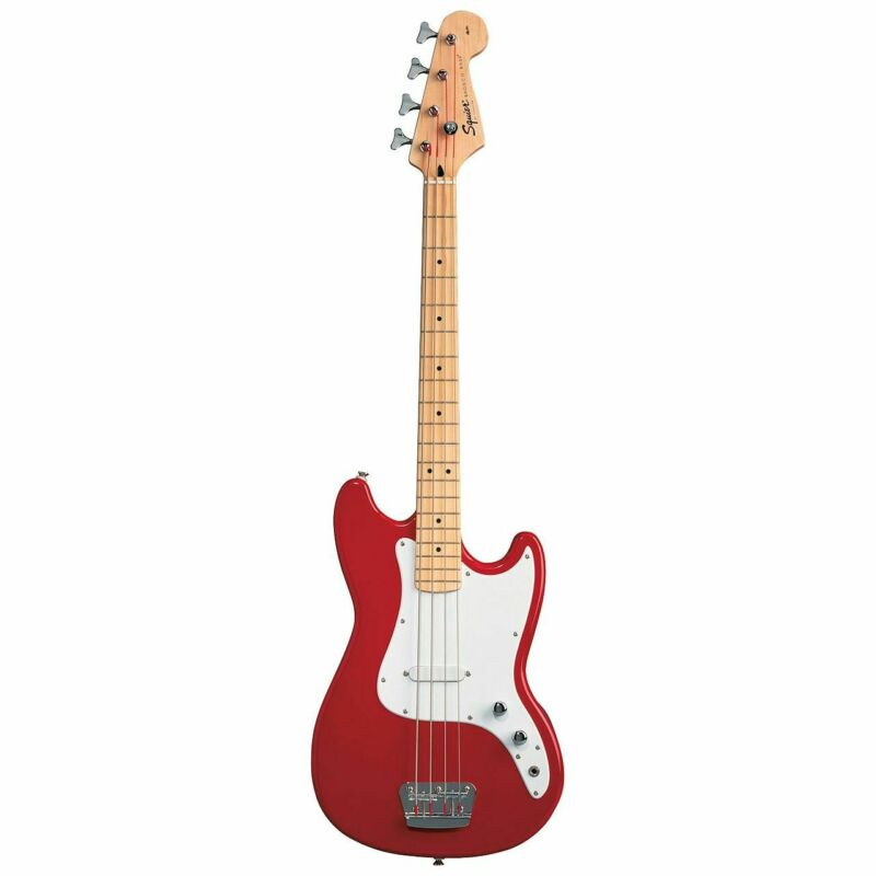 SQUIER BRONCO Bass IN Torino Red