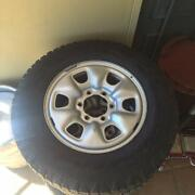 """Rims and Tyres Original Hilux 16"""" Rims and Tyres Queanbeyan Queanbeyan Area Preview"""