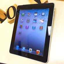 As new iPad 1 black 64G with cellular in box perfect condition Calamvale Brisbane South West Preview