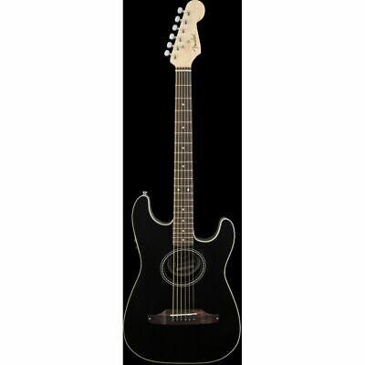 Fender Stratacoustic Negro - Guitarra Acústica Eléctrica