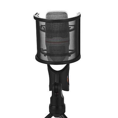 Microphone Windscreen Professional Mudder Recording Studio Mic Cover Dual Layer