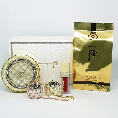 The History of Whoo Gongjinhyang Mi Luxury Golden Cushion Glow No.21 Special Set