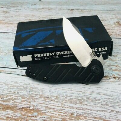 DISCONTINUED Zero Tolerance Emerson 0630 Folding Knife S35VN Stonewashed Blade