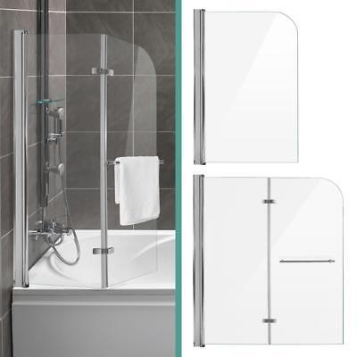 Duschabtrennung Dusche Badewannenaufsatz Faltwand Duschwand Glaswand Lotuseffekt