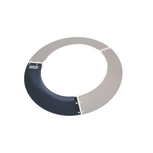 MSA 697410 Plastic Sun Shield for V-Gard Non-Slotted Hat, Smoke (Full Brim Only)