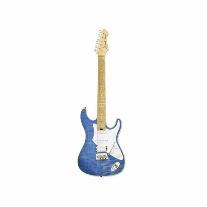 ARIA 714 MK2 STRATOCASTER Turquoise Blue - E-Guitar