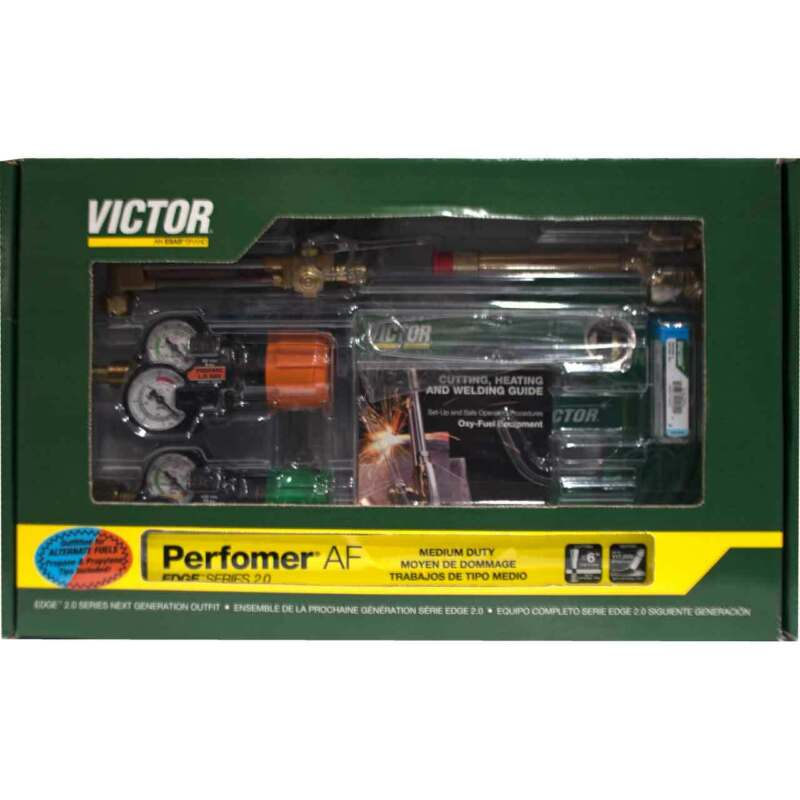 Victor 0384-2127 Performer 540/510LP Edge 2.0 Propane Cutting Torch Outfit