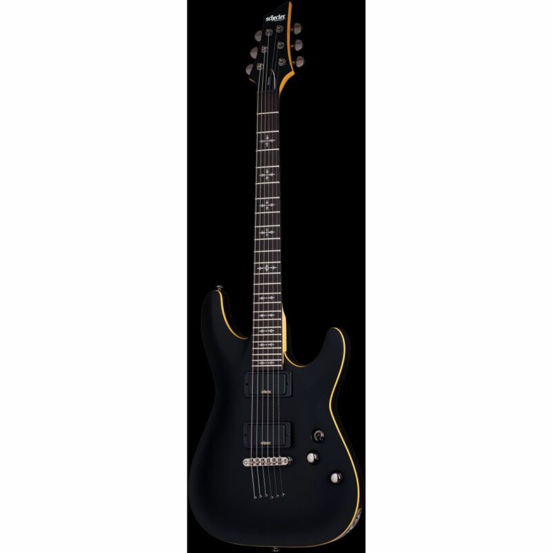 SCHECTER Demon 6, Aged Black Satin - E-Guitar